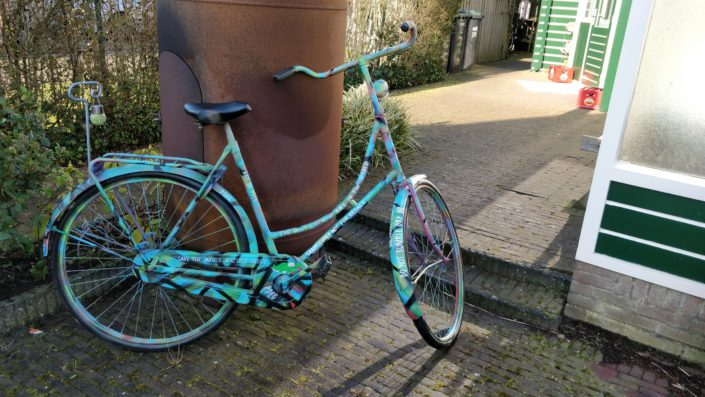 Just a bike that could do with a fresh paintjob